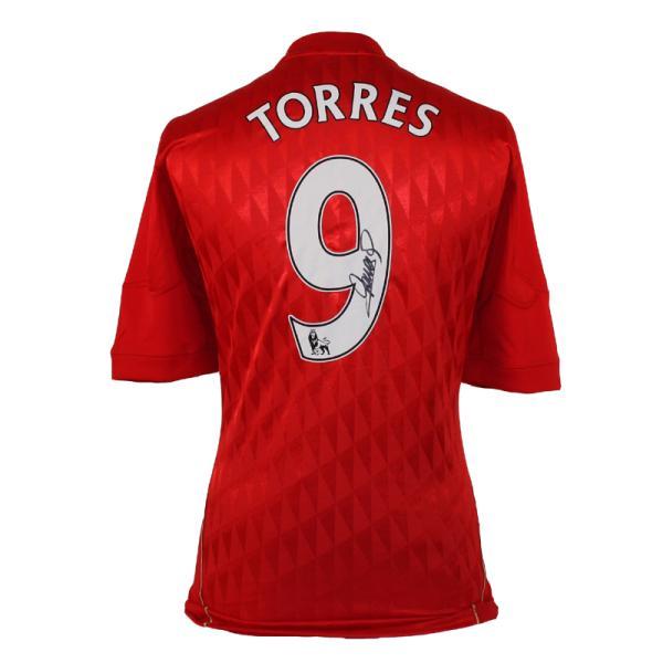 Fernando Torres Signed Liverpool Home Shirt Sports   Leisure ... 0490863d1