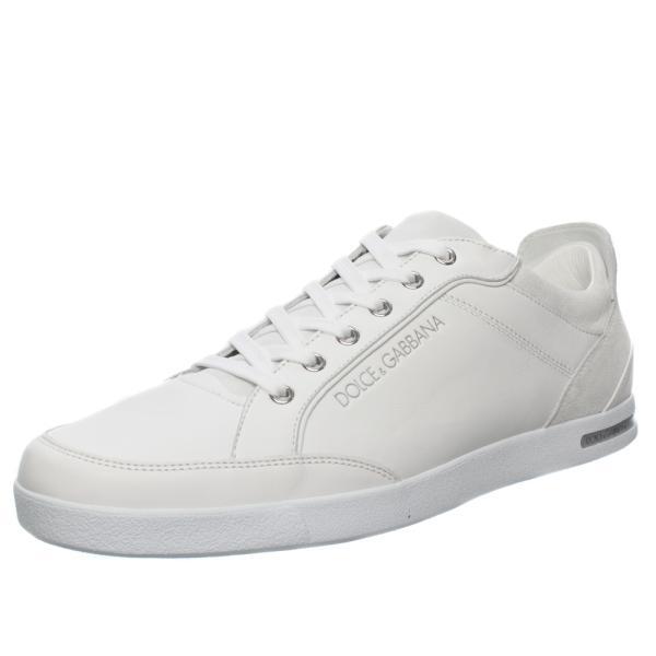 D G Trainers - UK Tonal Script Logo Trainers in White Mens Footwear ... 082fb99be