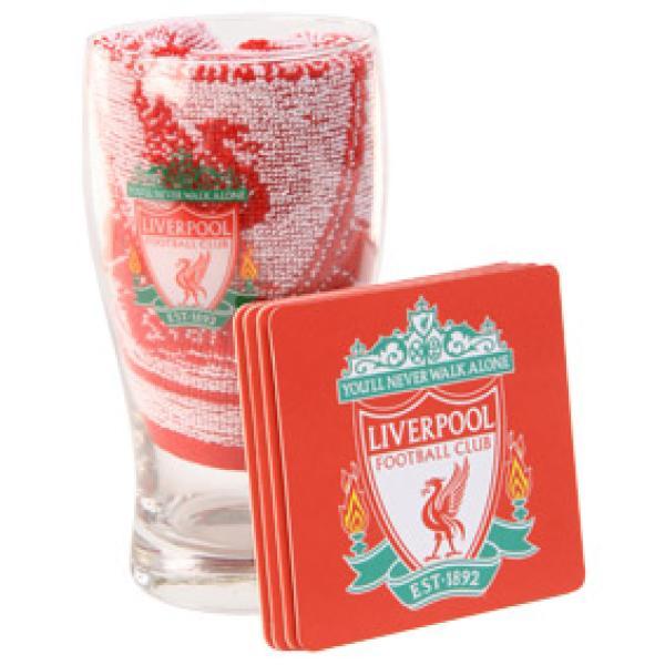 Liverpool FC Official Mini Bar Set
