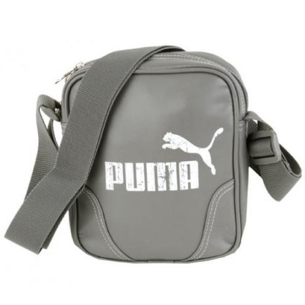 Puma Campus Portable - Steel Grey White Bag Sports   Leisure   Zavvi 39bd5b917d