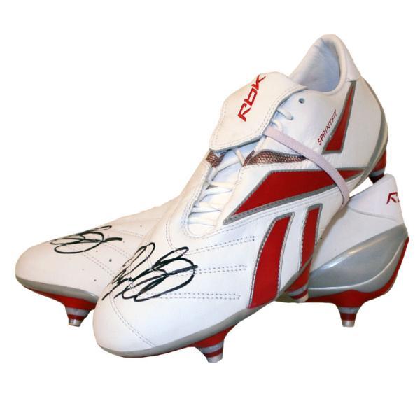 the latest 9a515 7154b Ryan Giggs Signed Reebok Sprintfit Pro  The Champions League Boot Sports    Leisure   Zavvi Australia