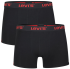 Levi's Men's 2-Pack Boxer Shorts - Black