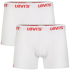 Levi's Men's 2-Pack Boxer Shorts - White