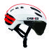 Casco Speedairo Helmet with Smoke Visor - White : Image 1