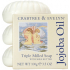 CRABTREE & EVELYN JOJOBA OIL TRIPLE-MILLED SOAP SET (3X100G): Image 1