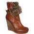 Moda In Pelle Women's Maroon Shoes - Tan: Image 1