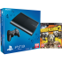 PS3: New Sony PlayStation 3 Slim Console (500 GB) - Black - Includes Borderlands 2: Image 1