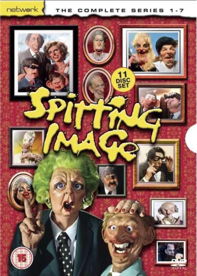 Spitting Image - Series 1-7 - Complete