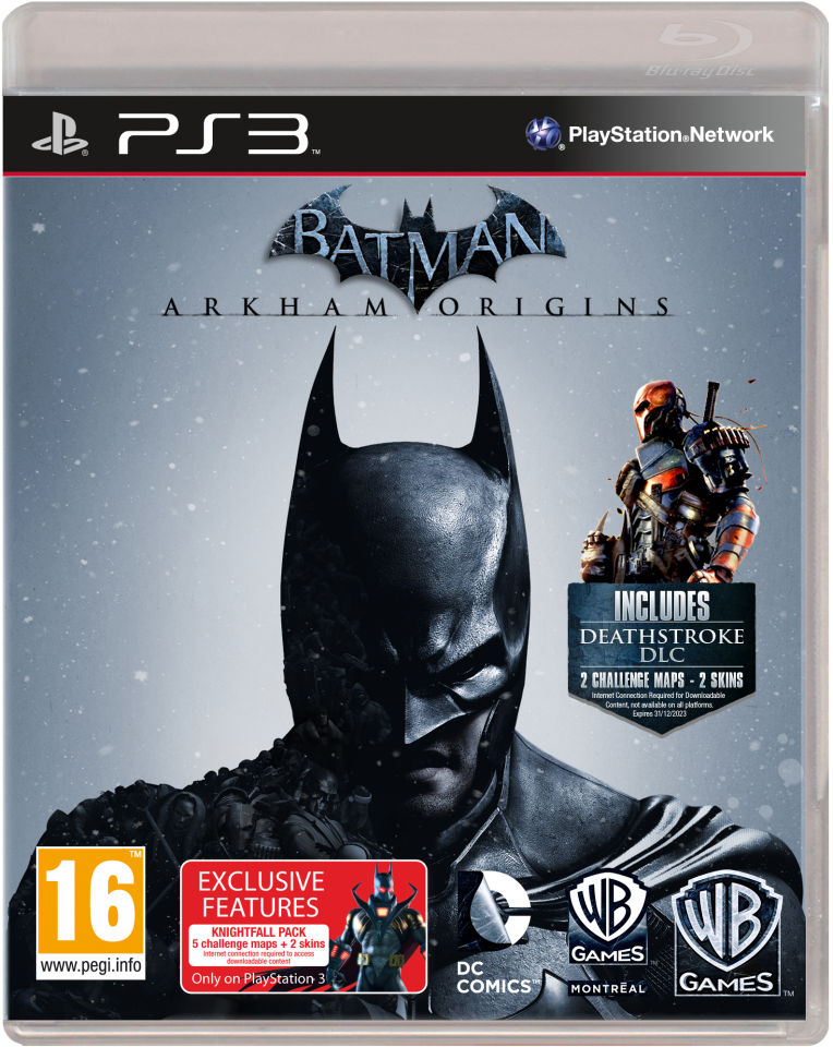 New Action Games For Ps3 : Batman arkham origins ps zavvi
