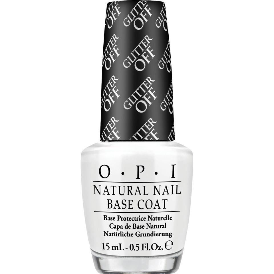 Best Nail Base Coat For Peeling Nails: OPI Glitter-Off Peelable Base Coat (15ml)