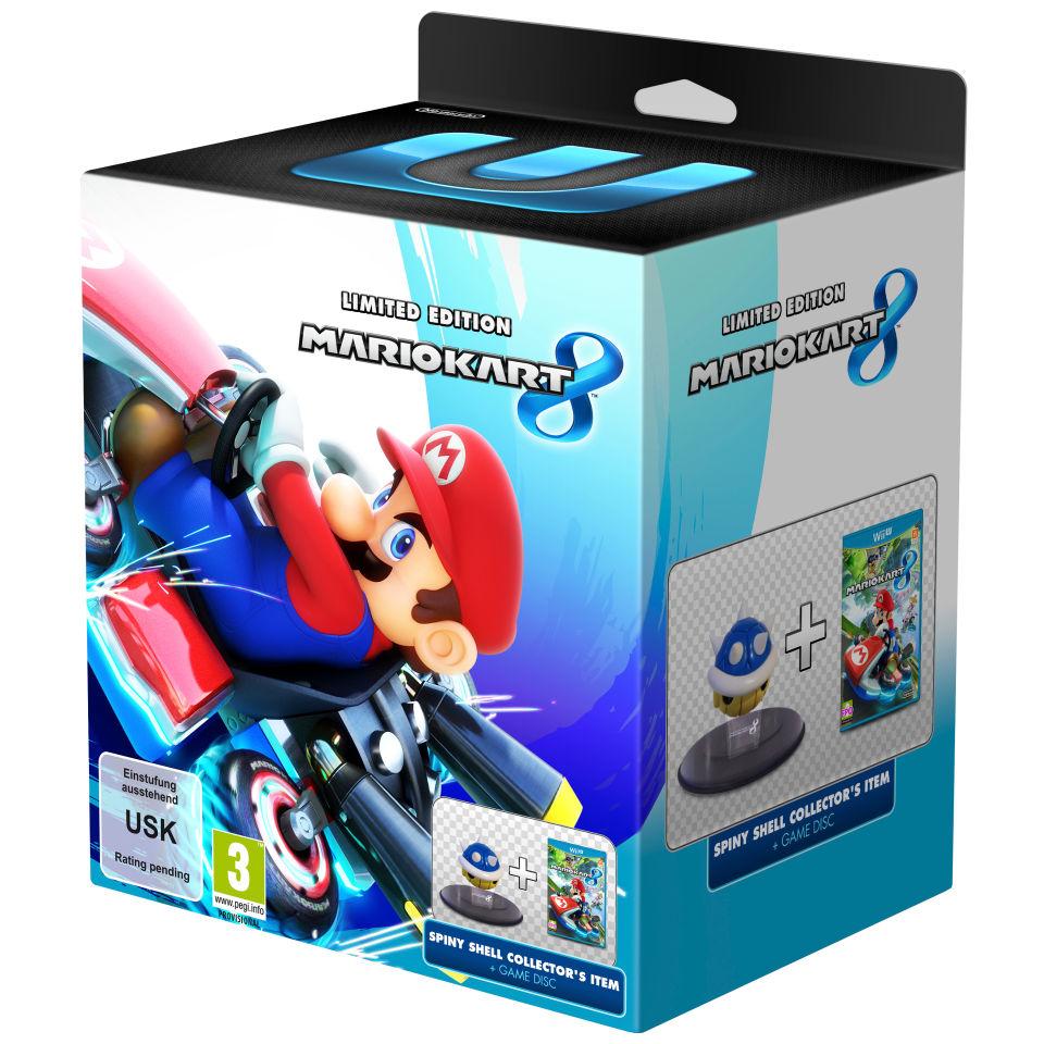 Mario kart 8 limited edition bundle wii u zavvi - Mario kart 8 console bundle ...