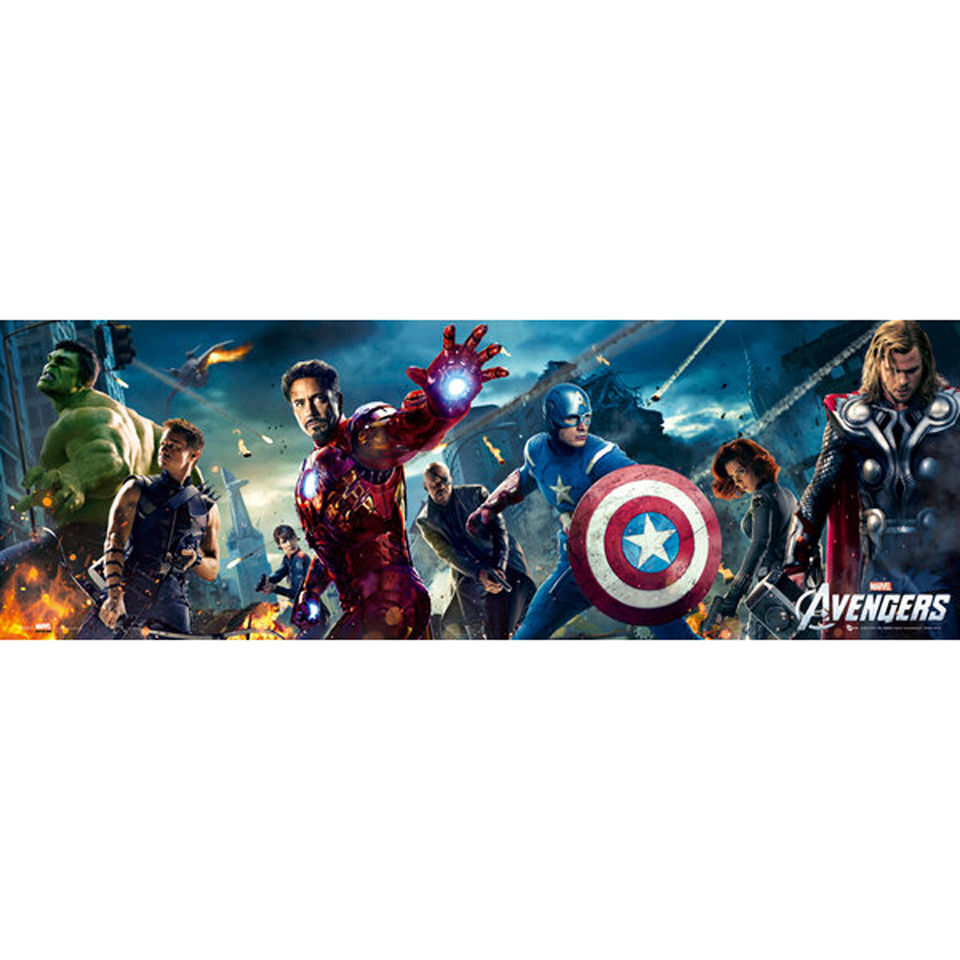 The Avengers One Sheet - Midi Poster - 30.5cm x 91.5cm