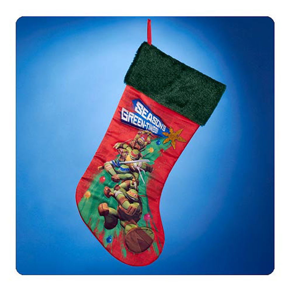 Teenage Mutant Ninja Turtles Nick 19 Inch Christmas Stocking ...