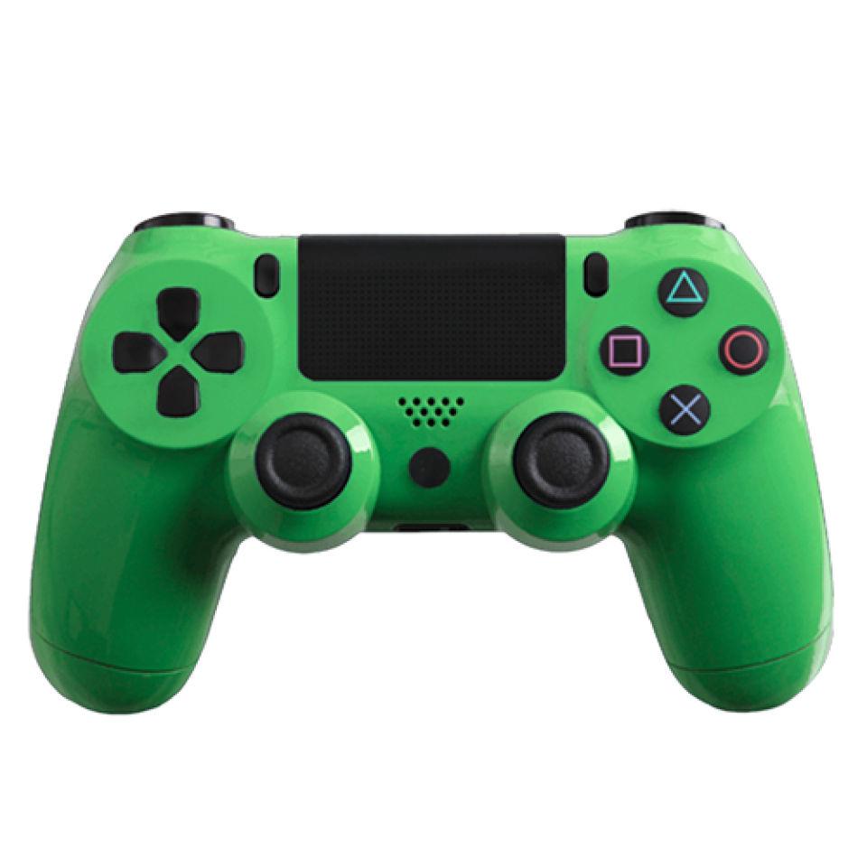 PlayStation DualShock 4 Custom Controller - Gloss Green ...