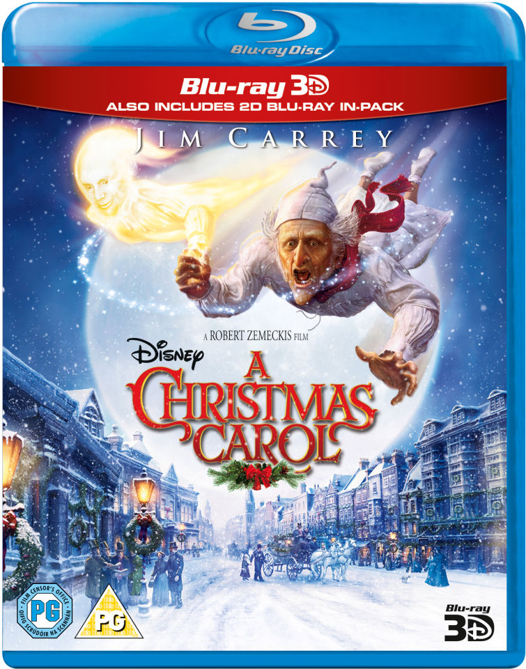 Jim Carrey Christmas Carol.A Christmas Carol 3d Includes 2d Version