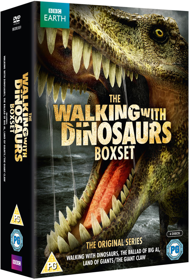 Walking With Dinosaurs Box Set Dvd Zavvi