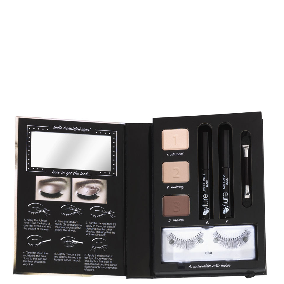8632a646b27 Eylure Get the Look Kit - Natural 002 | Free Shipping | Lookfantastic