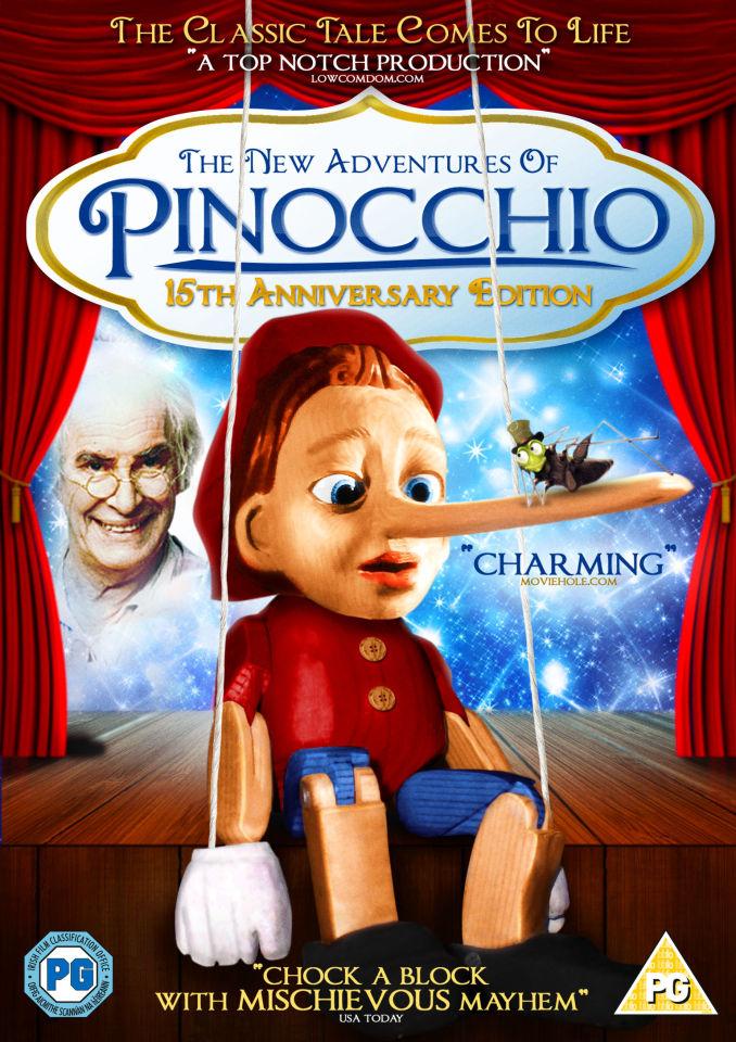 The New Adventures Of Pinocchio Dvd Zavvi