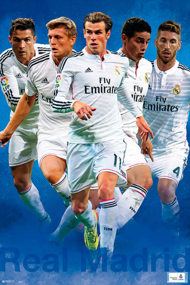 Real Madrid Group Shot 14/15 - Maxi Poster - 61 x 91.5cm