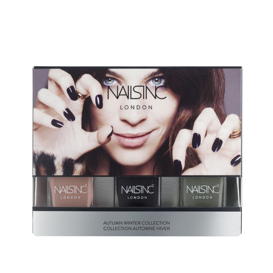 Nails Inc Alexa Chung Autumn Winter Collection
