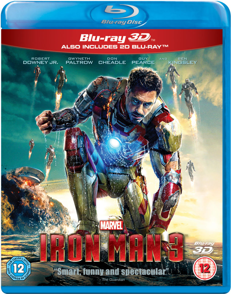 Iron Man 3 3d Zavvi Nl
