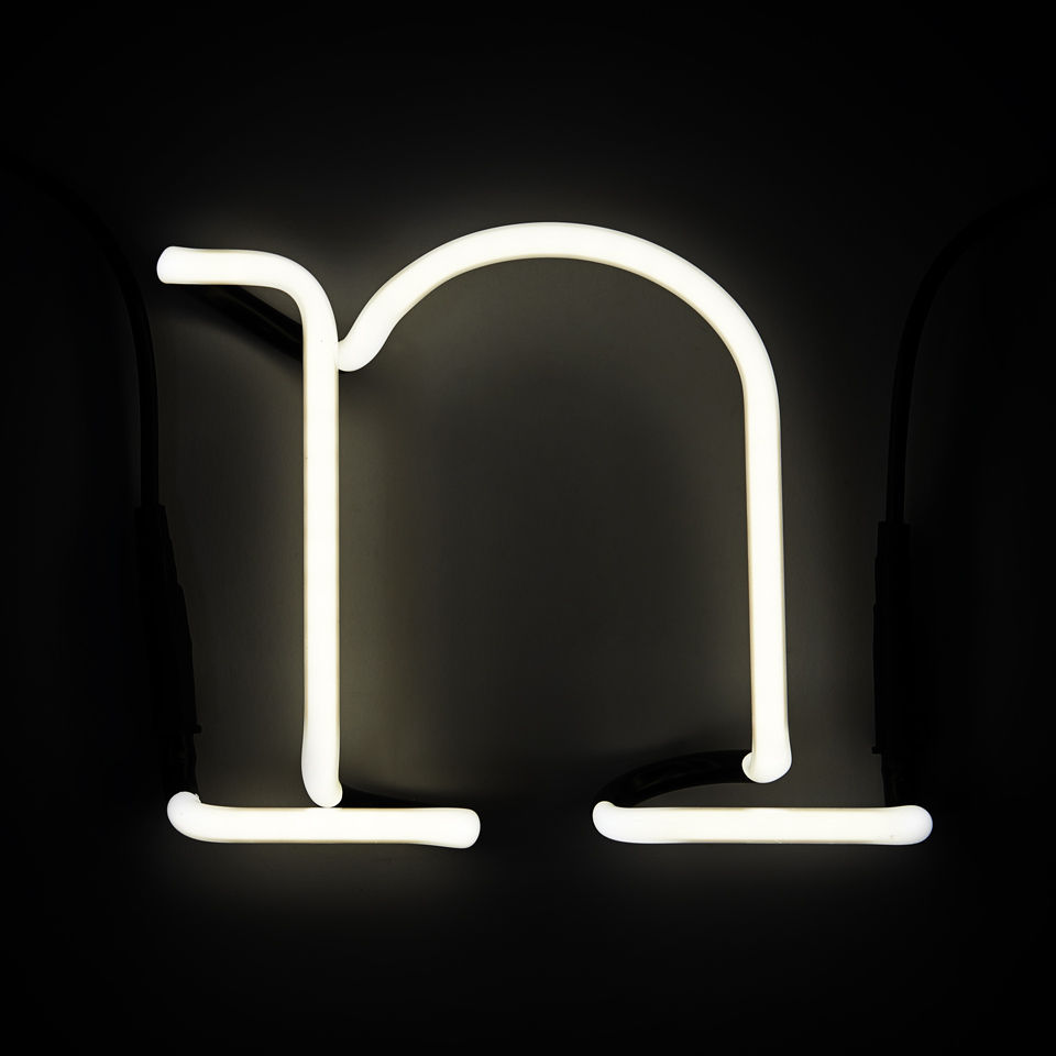 Wall Mounted Letter Lights : Seletti Neon Wall Light - Letter N IWOOT