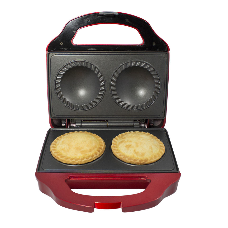 Gourmet Gadgetry Retro Diner Double Pie Maker