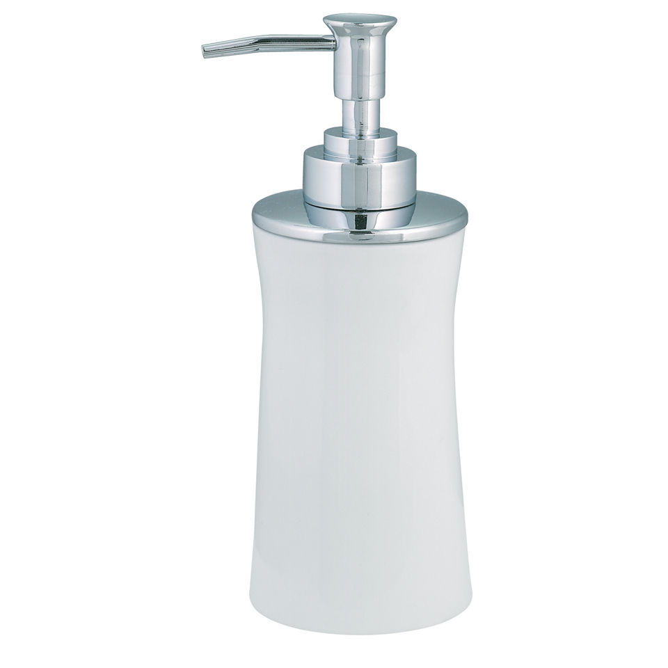 Spirella Malibu Soap Dispenser - White Homeware | Zavvi US