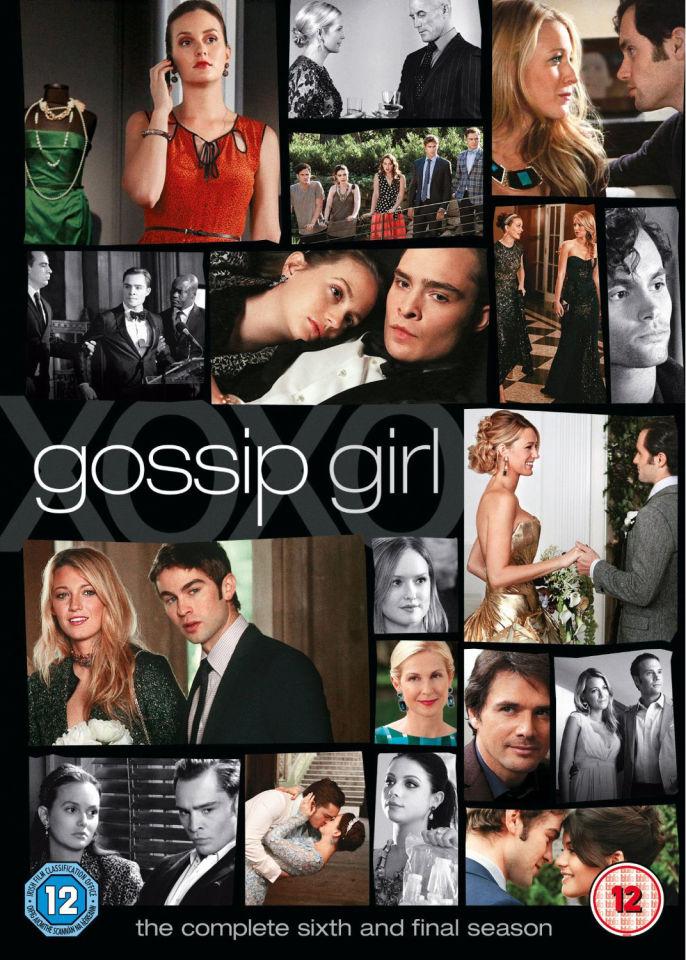 Gossip Girl Season 6 Dvd Zavvi