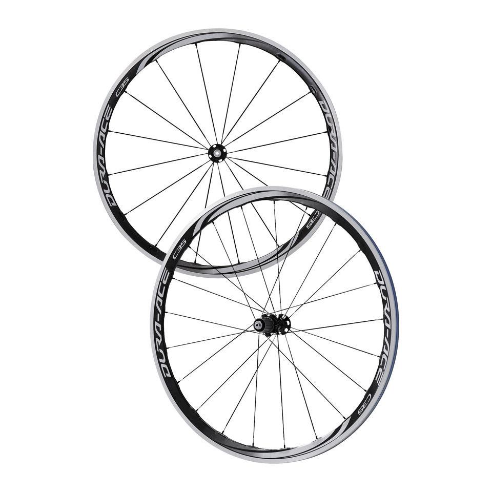 6937c808051 Shimano Dura-Ace WH-9000 C35 CL Clincher Wheelset | ProBikeKit UK