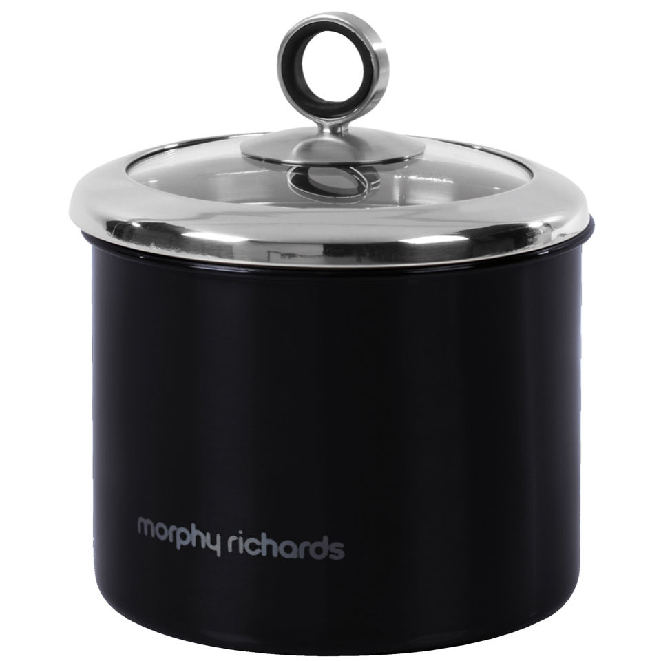 Morphy Richards Accents Small Storage Canister - Black