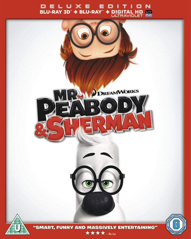 Mr. Peabody and Sherman 3D (Includes UltraViolet Copy)