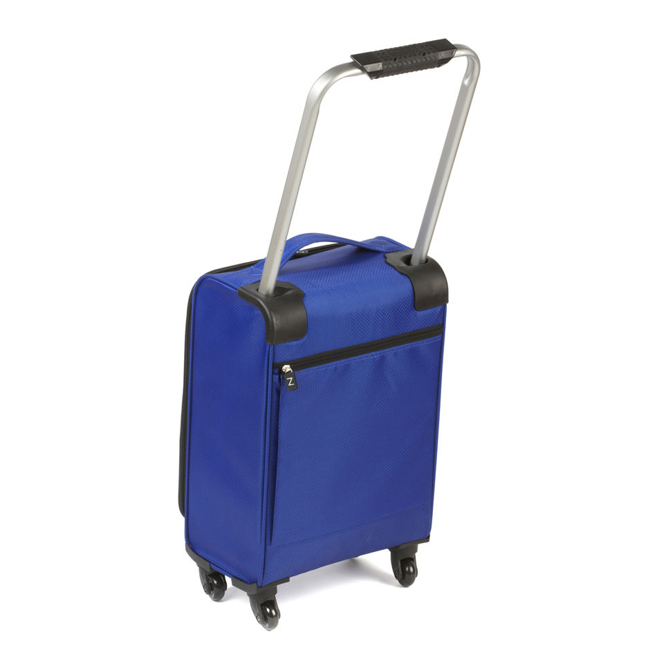Z Frame 18 Inch Super Lightweight 4 Wheel Suitcase - Cobalt Blue | IWOOT