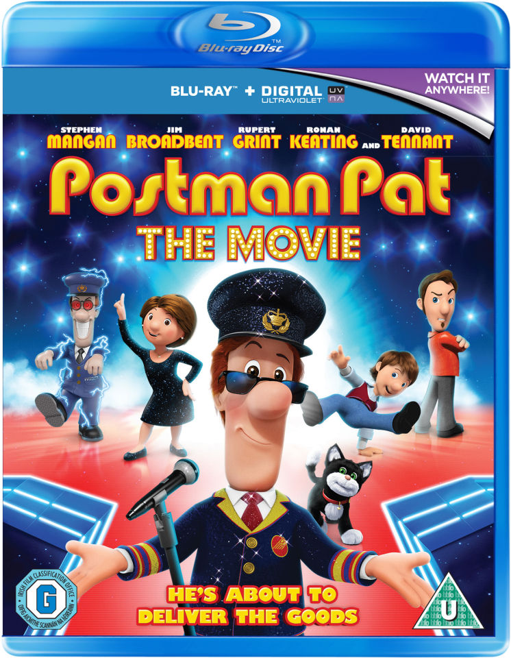 Postman Pat Includes Ultraviolet Copy Blu Ray Zavvi