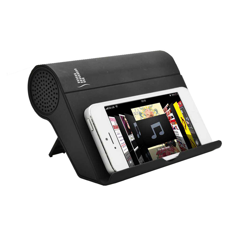 Magnetic Induction Speaker And Stand Black Iwoot