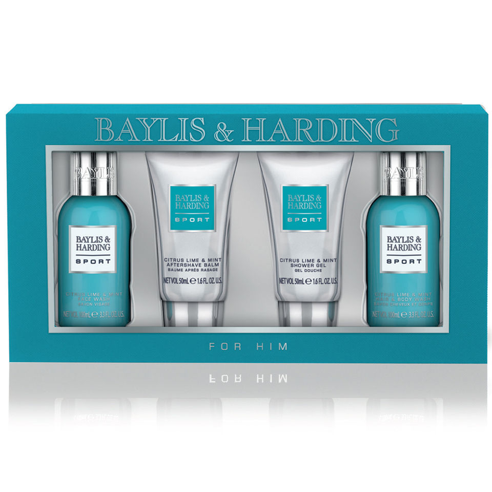 adbb8e33f0 Baylis   Harding Men s Citrus Lime and Mint 4 Piece Gift Set