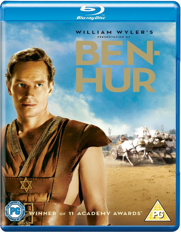 Ben Hur (Includes 3 Discs)