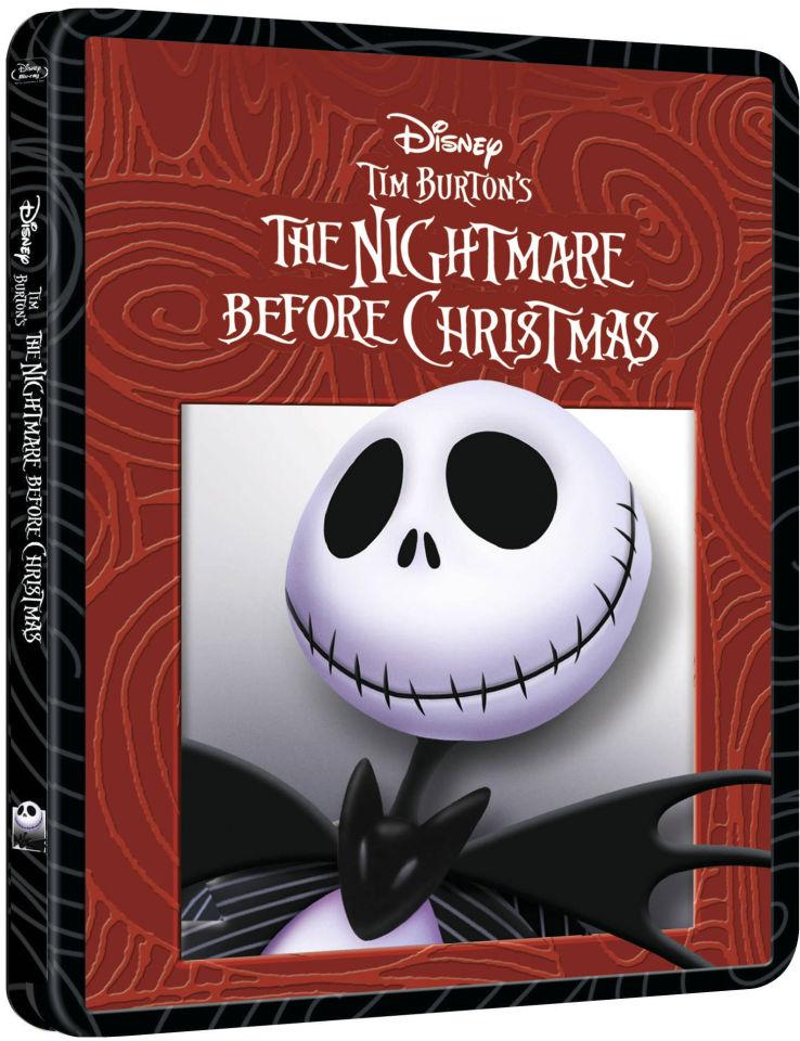 The Nightmare Before Christmas - Zavvi Exclusive Limited Edition Steelbook Blu-ray   Zavvi