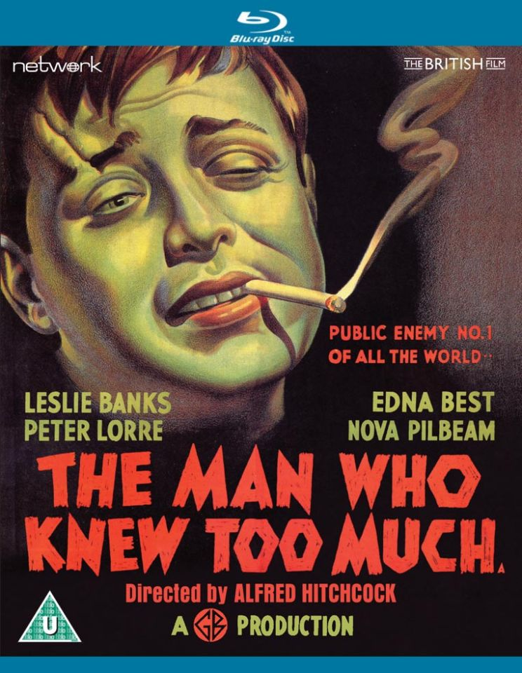 The Man Who Knew Too Much Blu-ray | Zavvi