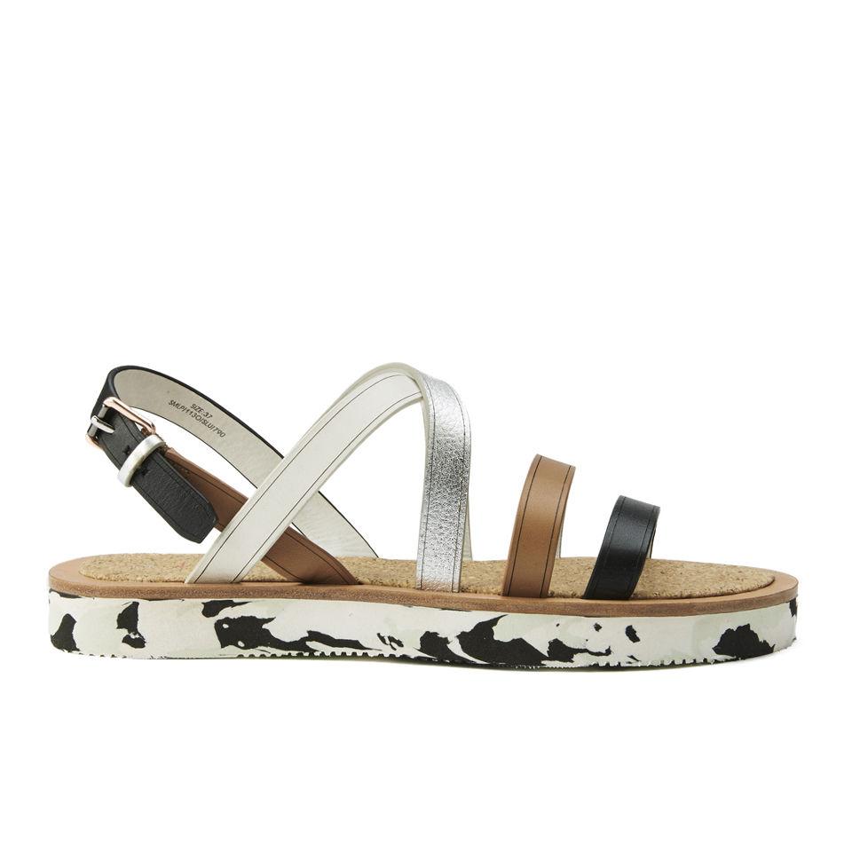 Smith Shoes Paul Sennen Lux Servo Women's Blacklarch Leather Sandals Flatform uXiOPkZ