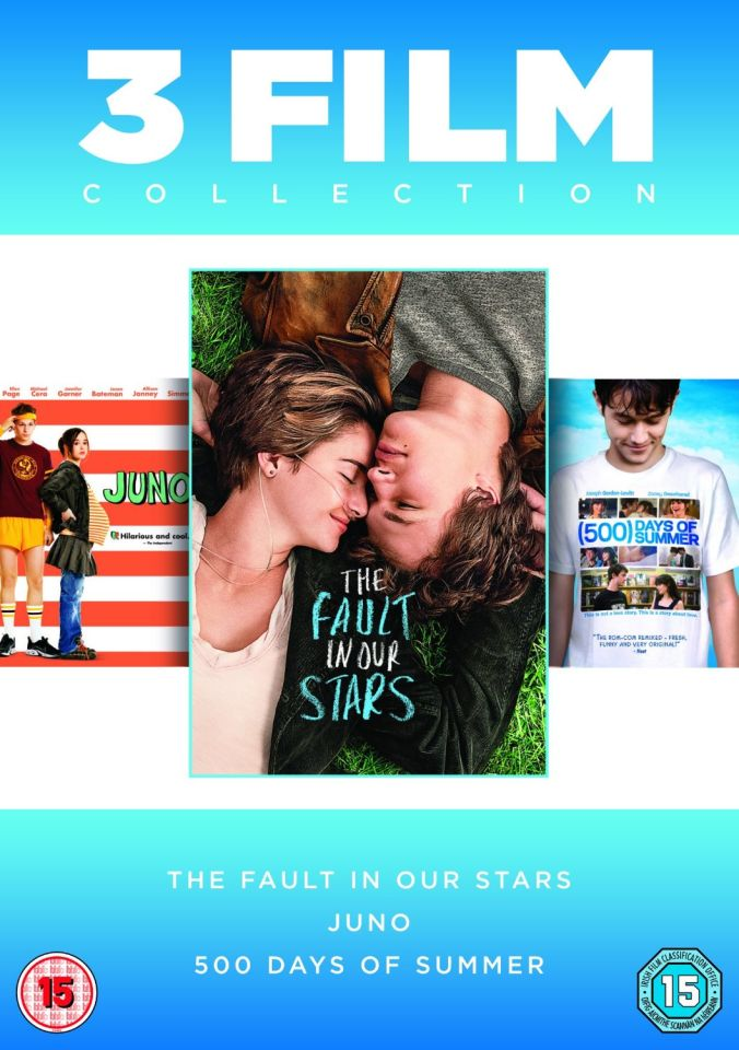 The Fault in Our Stars / Juno / 500 Days of Summer