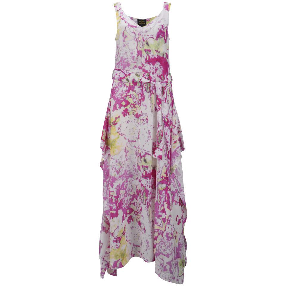 Vivienne Westwood Anglomania Women s Zeta Maxi Dress - Fuchsia ... baa1281d6