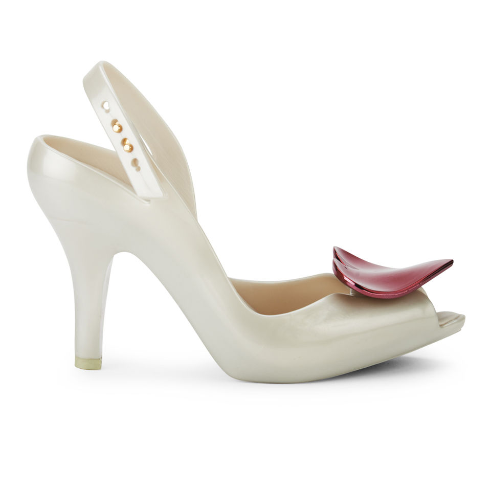 Melissa Shoes Vivienne Westwood Lady Dragon Pearl Red Heart