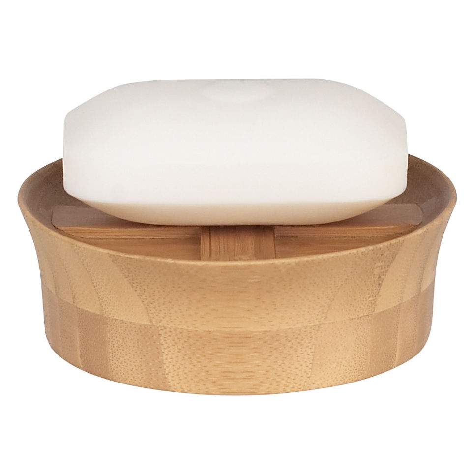 Spirella Max Wood.Spirella Max Light Soap Dish Bamboo