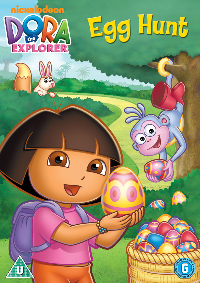 Dora The Explorer Egg Hunt Dvd Zavvi