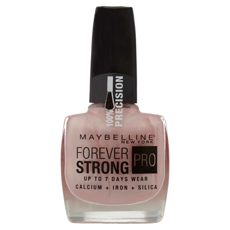 Maybelline Forever Strong Nail Varnish - Porcelain | Free Shipping ...