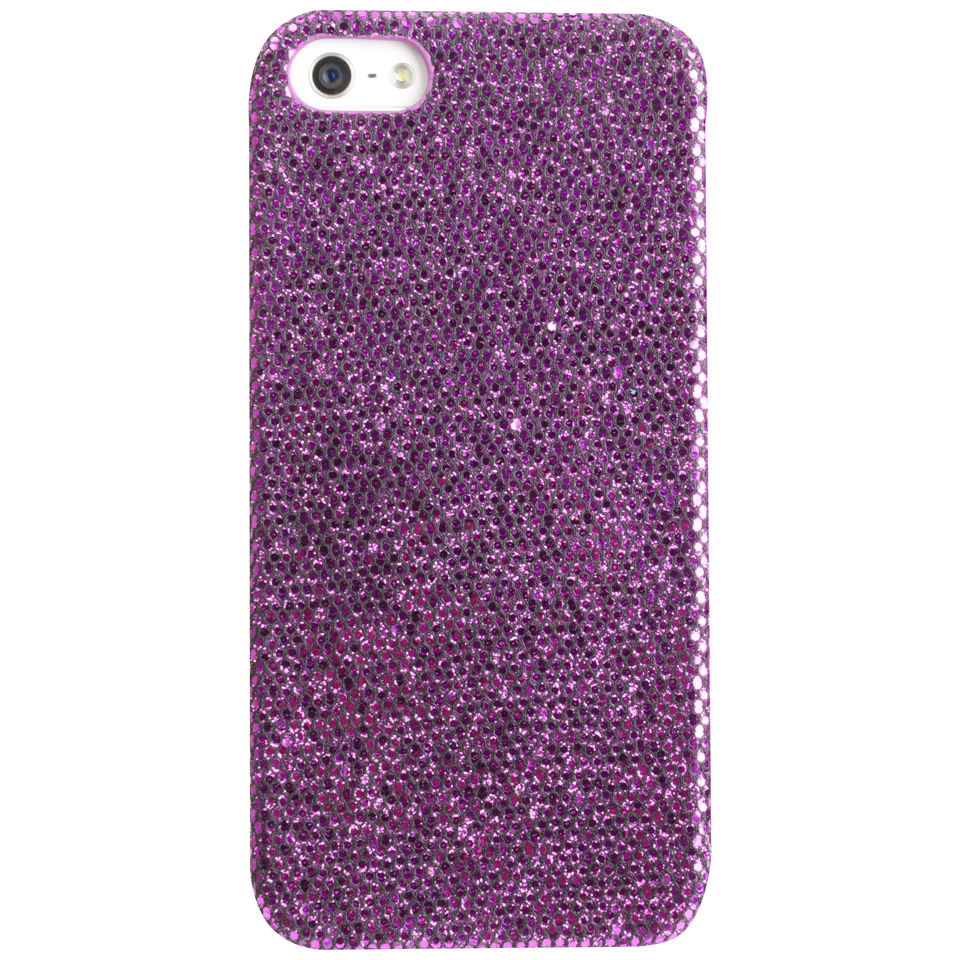 Cygnett Glamour Case for iPhone 5 - Purple Bling
