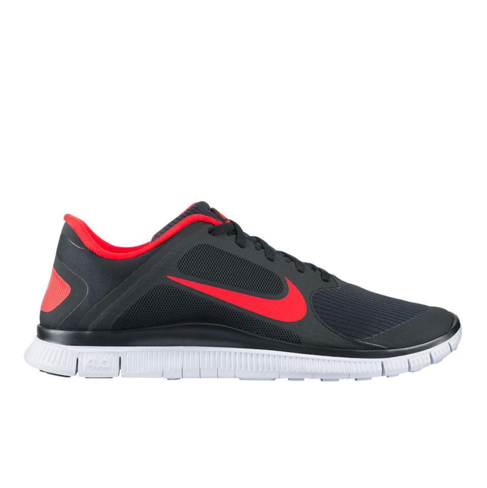 finest selection 6ae31 31315 Nike Men's Free Run 4.0 V3 Running Shoes - Black/White
