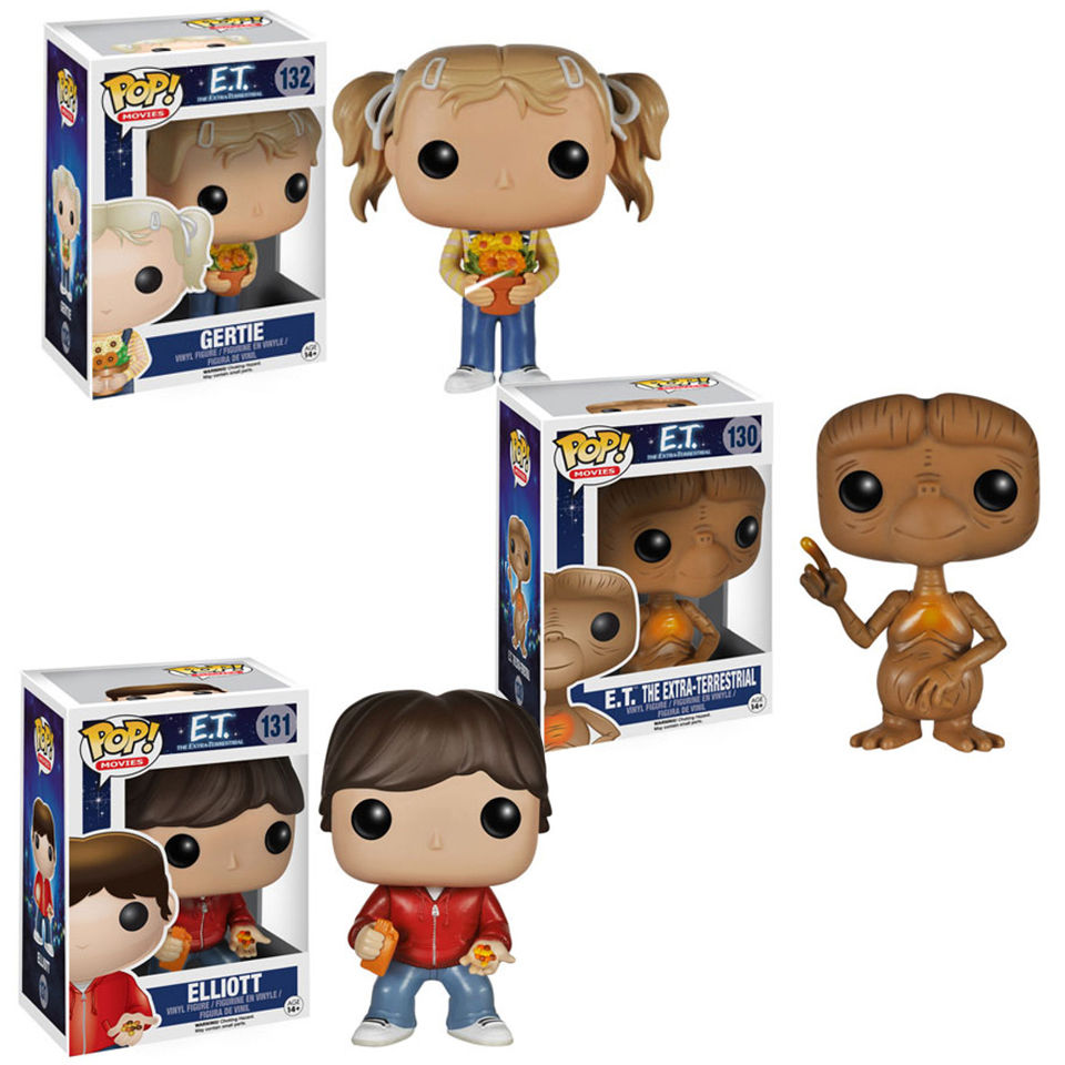 E.T Pop! Vinyl Figure Bundle