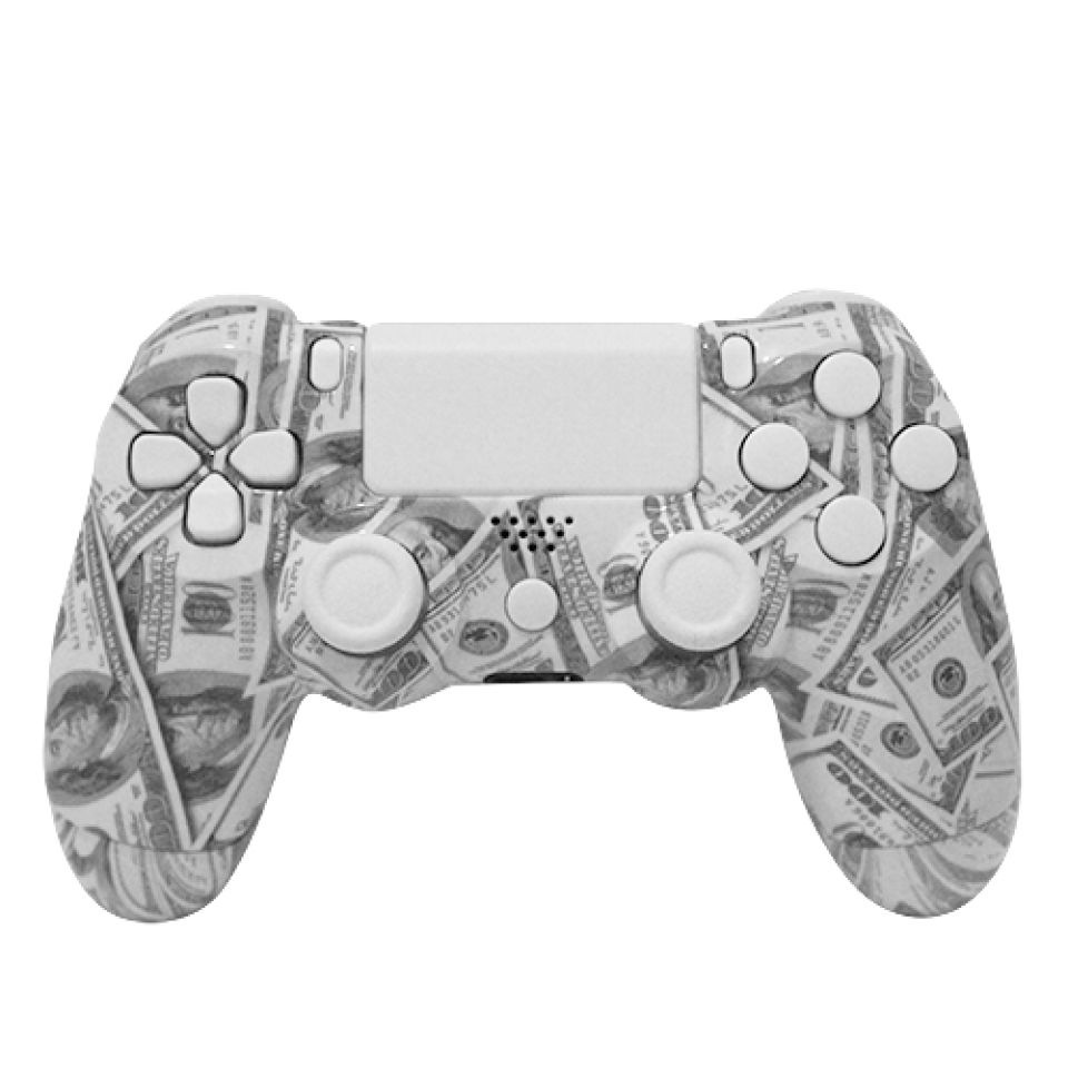 PlayStation DualShock 4 Custom Controller - Money Maker